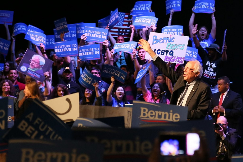 Bernie Sanders - The Comeback Kid ?