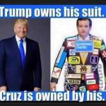 Trump vs Cruz political Satire