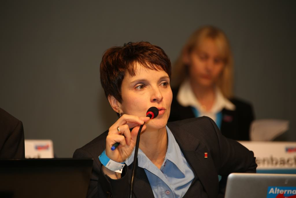 Frauke Petry - AfD Win Elections in Germany