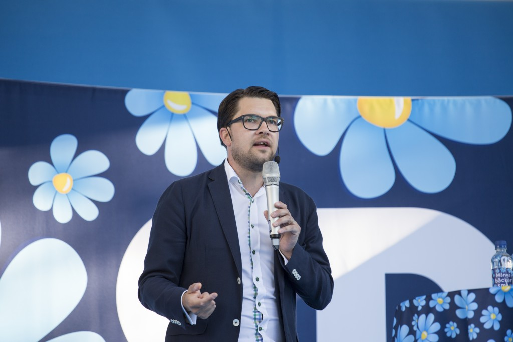 Jimmie Åkesson leader of the Swedish Democrats By Per Pettersson from Stockholm