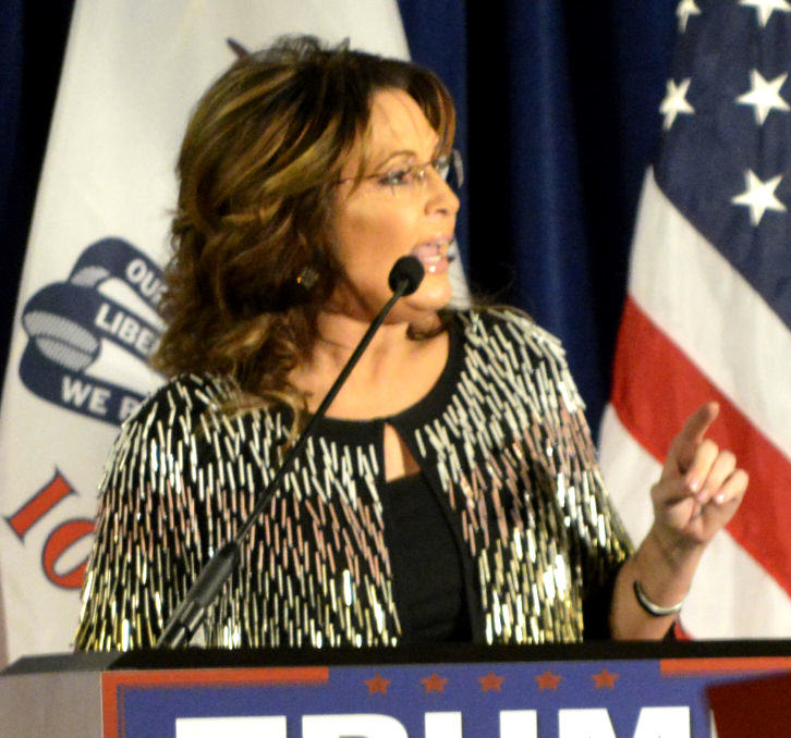 Sarah Palin campaign for Donald Trump