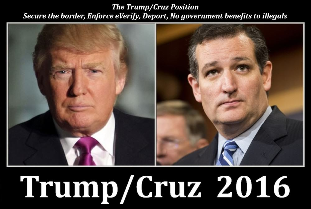 A Trump Cruz 2016 Republican ticket