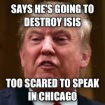 donald-trump-meme - trump destroy isis