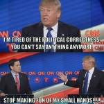 donald-trump-satire - small hands fun picture