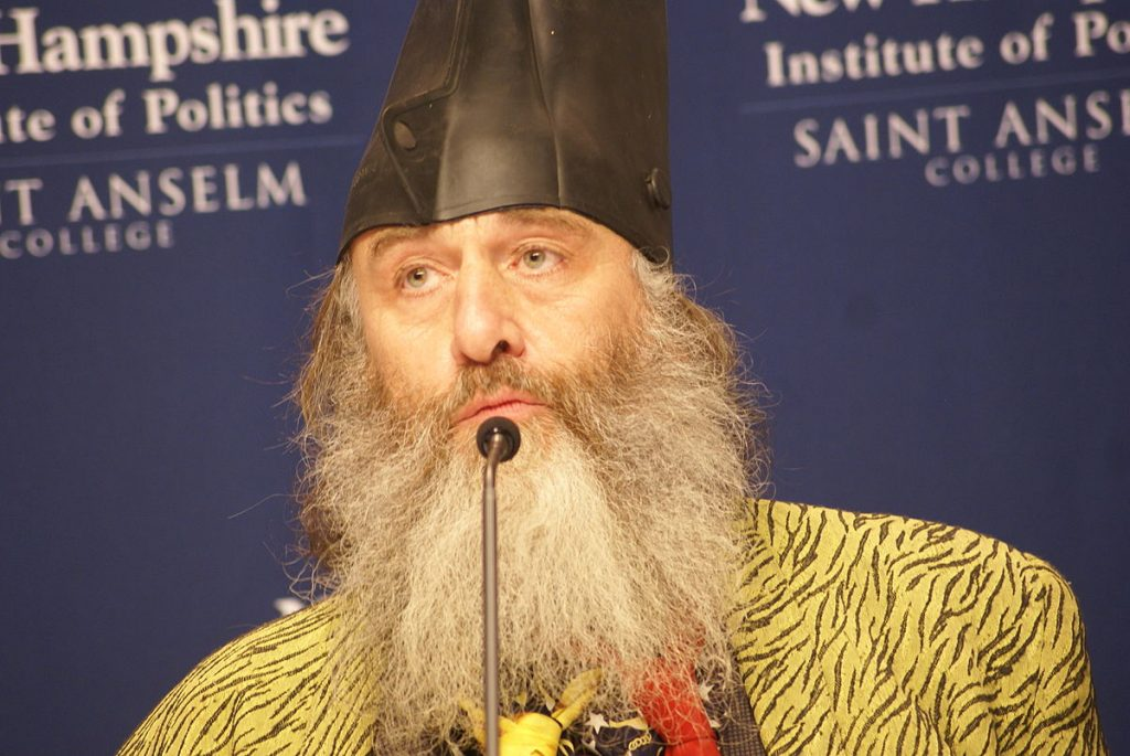 Third Party Candidate Vermin Supreme
