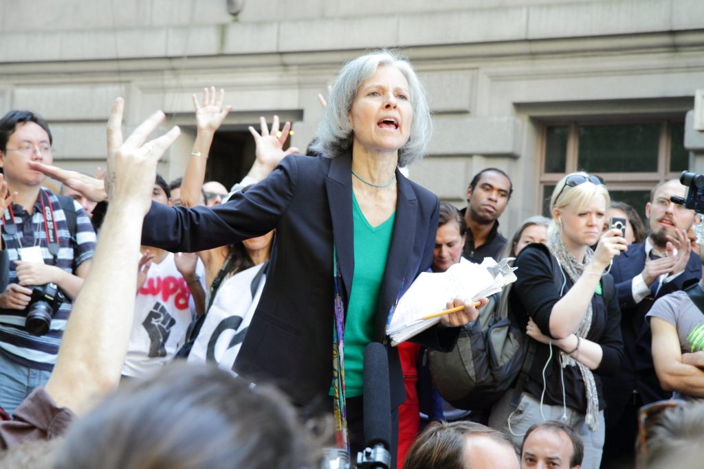 Jill Stein - Third party candidate for the Green Party 2016