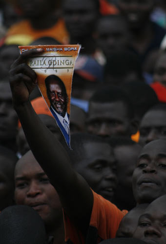 Raila Odinga supporters