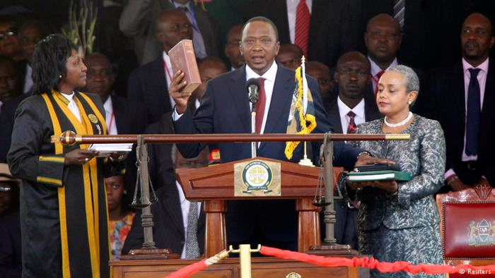 Kenyan Politics - Uhuru Kenyatta sworn in as President of Kenya